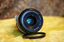 Nikon Nikkor AI 35mm  f/2.8  The famous 6 lens element version