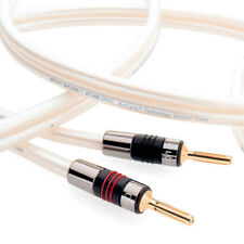 QED X-Tube XT400 Speaker Cable 100cm Unterminated Banana NEW GENUINE