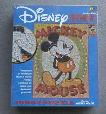Disney Classic Mickey Mouse Photomosaics Puzzle 1000 Movie Frames Buffalo Games