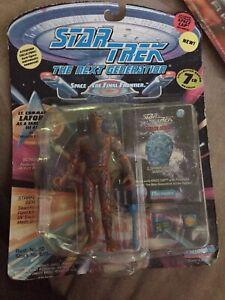 STAR TREK LT. COMMANDER LAFORGE AS A TARCHANNEN III ALIEN FIGURE Playmates 1994