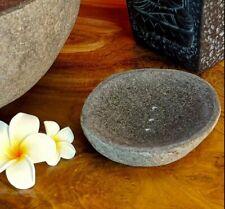 Soap Dish Stone River Stone 12x15cm Natural Stone Accessory Bathroom Modern