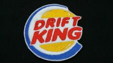 Drift King JDM Honda Japan Embroidered Patch Badge Iron on or Sew.