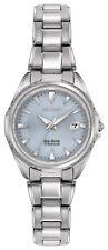 Citizen Eco-Drive Women's EW2410-54L Super Titanium Blue Dial 28mm Watch