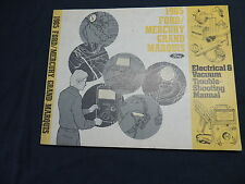 FORD/MERCURY GRAND MARQUIS 1985 Electrical manual officina manuale