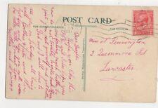 Miss N Pennington Quernmore Road Lancaster 1931  360a