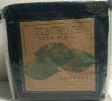 Pure Beech Jersey Full/Queen Comforter Set in Black