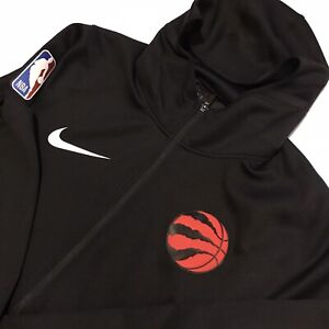 Nike NBA Toronto Raptors Therma Flex Black Showtime Hoodie Size 3XL (940164-010)