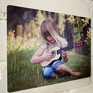Personalised Custom Photo Sign Metal Sign A4 - A5 size Bar Add Name