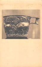 BR70795 postcard art athens coupe de vaphio greece