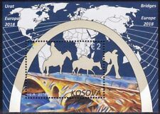 Kosovo Stamps 2018. Europa CEPT: Bridges. Block, Souvenir sheet MNH
