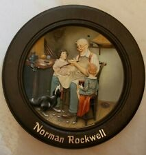 "Norman Rockwell ""The Toy Maker"" Centennial Collection - Framed In Wood"