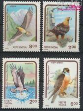 Indien 1375-1378 postfrisch 1992 Greifvögel (8882720