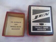JEN PE403 treble bass booster pedale overdrive degli anni '60 con original case