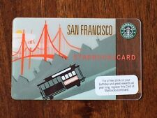 Rare NEW Starbucks Card 2009 San Francisco Trolley Car Limited Edition Old Logo