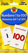 Numbers 1 to 100 Flash Cards Numeros del 1 al 100 (Brighter Child Flash Cards)