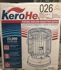 NOS Sengoku KeroHeat KH-250 23,000 BTU Portable Convection Kerosene Heater