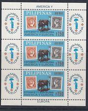 """Filipinas: 1977 """"Espamer 77"""" Sello Exposición M/chapa perforada SG 1444 estampillada sin montar o nunca montada"""