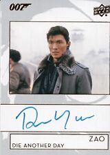 2019 James Bond Collection, Rick Yune 'Zao' Autograph Card A-RY