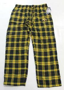 Iowa Hawkeyes Men's Concepts Sport Ultimate Sleep Pants AL8 Black/Gold Size XL
