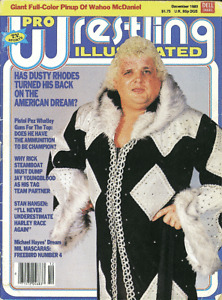 Pro Wrestling Illustrated Magazine (December 1983) Dusty Rhodes NWA WWF WWE PWI