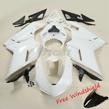 Unpainted Drilled ABS Bodywork Fairing Kit For Ducati 848 1098 1198 2007-2012 11