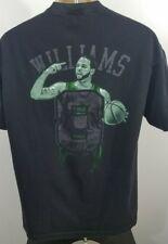 Majestic Utah Jazz D will black size large men's t-shirt 792