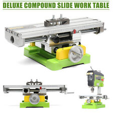 Premium Cross Sliding Milling Machine Bench Drill Working Table 2 Axis Compound