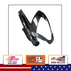 Road Bike Bicycle Cycling MTB Glass Carbon Fiber Water Bottle Holder Cage S007