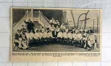 1902 Sons Of The Sea Minstrels On New Royal Yacht Help Widow Orphan W Farley