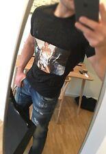 Philipp PLEIN T-shirt, Teddy Lover, taglia L, NUOVO