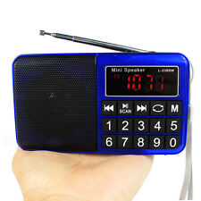 Digital FM/AM/SW Radio MP3 Music Player Multimedia Mini Speaker large screen Hot
