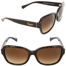 Coach HC 8160 5120/13 Butterfly Sunglasses Dark Tortoise/Brown Gradient Lens