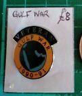 Gulf War Veteran (1990 -1991). Veteran Pin. (Type2).