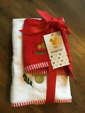 Disney 'Mickey / Minnie Mouse' HAND & FACE TOWELS - Christmas Set, Primark Gift