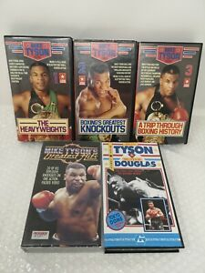 Mike Tyson Presents... Boxing VHS Video Tapes & Others Buster Douglas