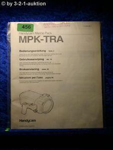 Sony Manual Mpk Tra Handycam Navy Pack (#0456)