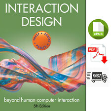 Interaction Design - Beyond Human-Computer Interaction Free shipping B8
