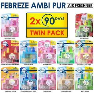 Febreze Ambi Pur3Volution Plug in Refill  Air Freshener 1X Twin pack 2 X 20 ML