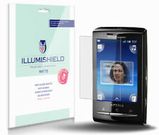 iLLumiShield Anti-Glare Screen Protector 3x for Sony Ericsson Xperia X10 mini
