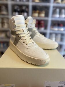 FEAR OF GOD BASKETBALL SNEAKERS bball white grey 42 jerry lorenzo 5th collection
