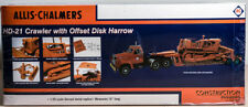 Allis - Chalmers HD-21 Crawler with Offset Disk Harrow NIB Construction Pioneers