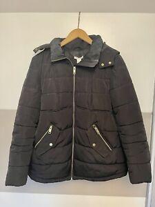 Umstandsmode Jacke Winterjacke Herbstjacke H&M MAMA Größe S 36 Schwarz