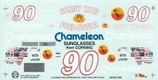 #90 Dick Brooks Chameleon Jinie Donlevy Ford Sunny King Decals