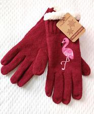 🐦 jolie paire de gants neufs flamant rose Classic Fashion doublés 🐦