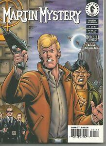 Martin Mystery #1-6 by Alfredo Castelli & Giancarlo Alessandri (DHC, 1999)