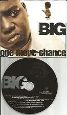 NOTORIOUS BIG One More Chance / what 4TRX w/ 3 EDITS & MIX USA CD single b.i.g.