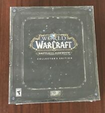 World of Warcraft Battle for Azeroth Collectors Edition NEW  NIB WOW  PC