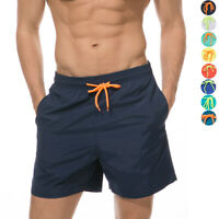Men's Board Shorts Surf Beach Bathing Swimming Trunks with Pockets  Quick Dry