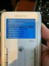 Creative ZEN Touch Silver White 20GB Digital Media Player DAP-HD0014