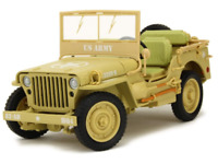 Jeep Willys ''Casablanca'' 1943  US Army Scale 1:18 Make Triple 9